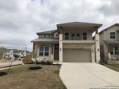 Bexar County Single Family Home Price Change: 12939 Carreta Way