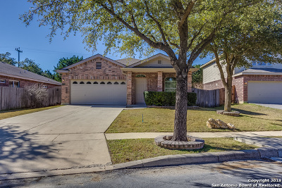 Helotes Single Family Home Back on Market: 14223 Sonora Bend