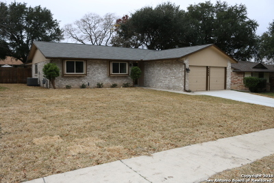Leon Valley Single Family Home Active Option: 6206 Sun Dial St