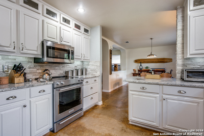 Helotes Single Family Home Active Option: 11827 Drought Pass