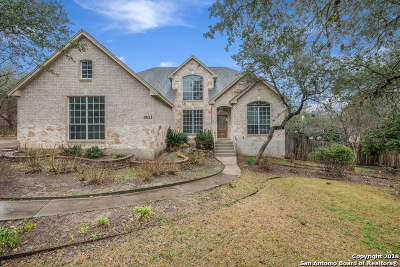 Helotes Single Family Home Back on Market: 9623 Jason Bend