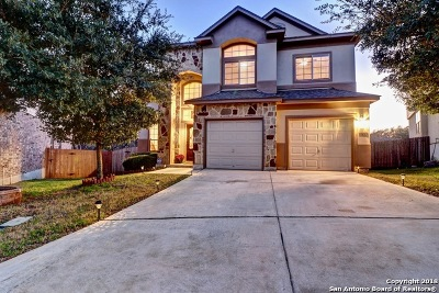 Bexar County Single Family Home Active Option: 12102 Sonni Field