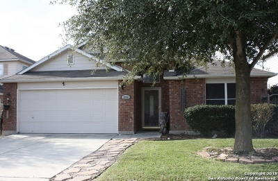 Schertz, Cibolo Single Family Home Active Option: 3908 Cherry Tree Dr