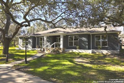 Boerne Single Family Home For Sale: 9602 Boerne Spring