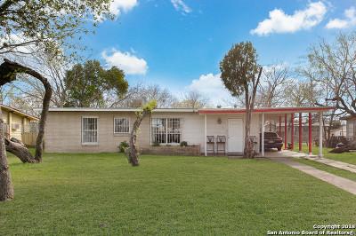 San Antonio Single Family Home For Sale: 142 Evandale St