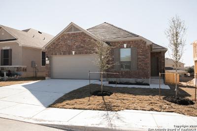 San Antonio Single Family Home Price Change: 7640 Lorca