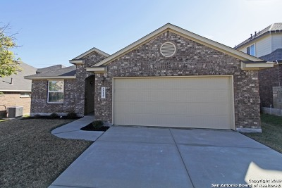 Bexar County Single Family Home Active Option: 5214 Ginger Rise