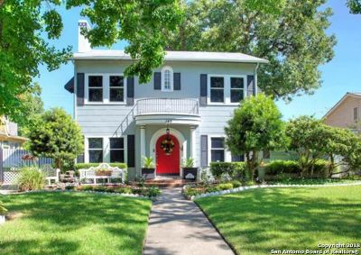 San Antonio Single Family Home For Sale: 145 E Rosewood Ave