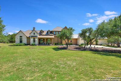 Boerne Single Family Home Active Option: 19 Sendero Woods