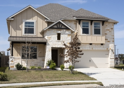 Schertz Single Family Home Price Change: 12007 Rockroot