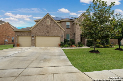Schertz Single Family Home Active Option: 10508 Pecan Branch