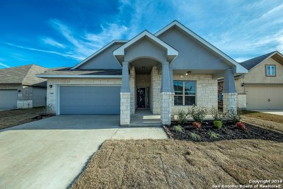 New Braunfels Single Family Home For Sale: 3109 Deer Hollow