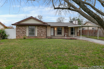San Antonio Single Family Home Active Option: 7310 Marble Creek Dr