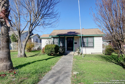 San Antonio Single Family Home Back on Market: 2829 W Mistletoe Ave
