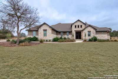 New Braunfels Single Family Home Back on Market: 2138 Appellation