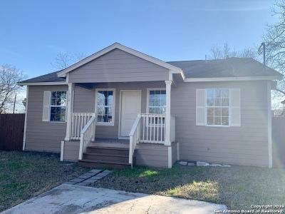 San Antonio Single Family Home Back on Market: 1618 San Carlos St