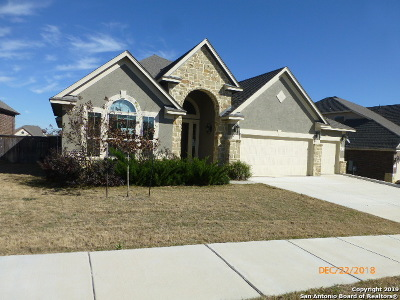 Schertz, Cibolo Single Family Home Active Option: 816 Rye Moon Cove