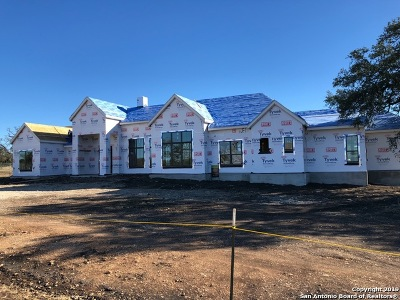 Comal County Single Family Home For Sale: Lot 1739 Curvatura