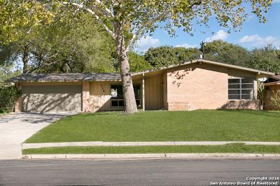 San Antonio TX Single Family Home For Sale: $239,900