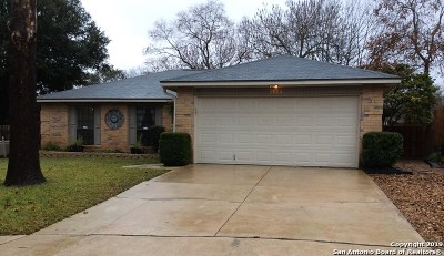 Schertz, Cibolo Single Family Home Active Option: 2603 Kingsland Circle