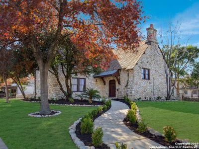 San Antonio Single Family Home For Sale: 200 W Lullwood Ave