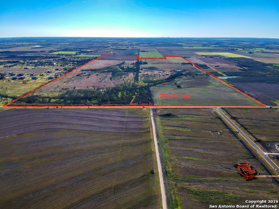 Guadalupe County Farm & Ranch For Sale: 655 S Santa Clara Rd