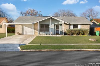 San Antonio Single Family Home Active Option: 9423 Millbrook Dr