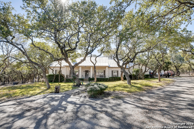 Boerne Single Family Home Active Option: 1876 Sparkman Dr