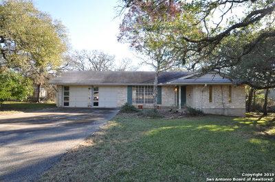 Bulverde Single Family Home For Sale: 30320 Bulverde Hills Dr
