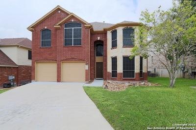San Antonio Single Family Home Active Option: 17239 Sonoma Springs