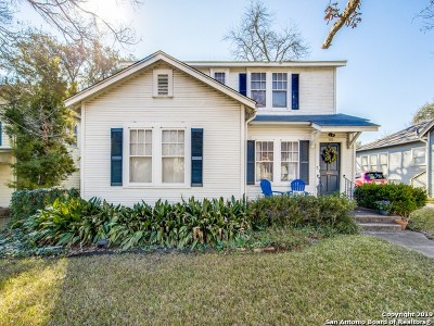 Alamo Heights Single Family Home For Sale: 340 Wildrose Ave