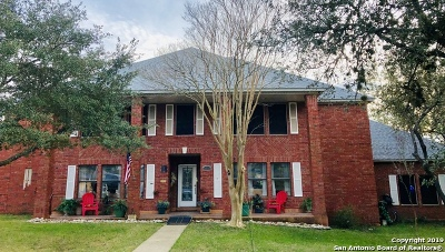 Single Family Home For Sale: 21935 Bat Cave Rd