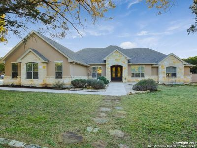 New Braunfels Single Family Home For Sale: 27603 Fels Mauer Blvd