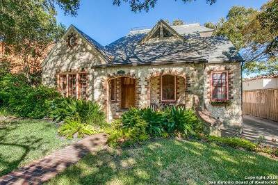 San Antonio Single Family Home For Sale: 227 Stanford
