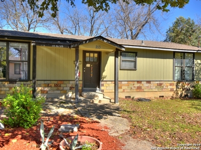 San Marcos Single Family Home For Sale: 213 Shady Ln