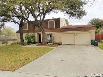 San Antonio Single Family Home For Sale: 16510 Burr Hill St