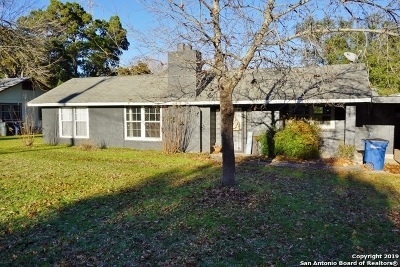 New Braunfels Single Family Home Active RFR: 480 California Blvd