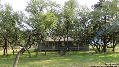 Boerne Single Family Home New: 1364 Desert Gold