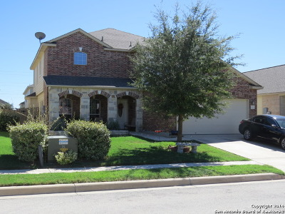 Cibolo Single Family Home New: 137 Sleepy Village