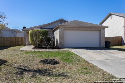 New Braunfels Single Family Home Active Option: 1378 Copper Point Dr