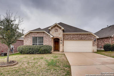 Boerne Single Family Home New: 27435 Camino Haven