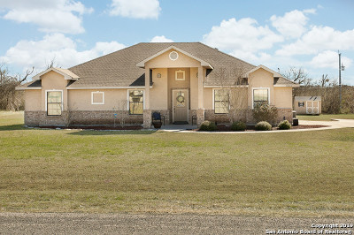 Bexar County Single Family Home Active Option: 15014 Becker Bend