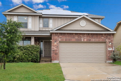 Converse Single Family Home Back on Market: 7707 Redstone Manor