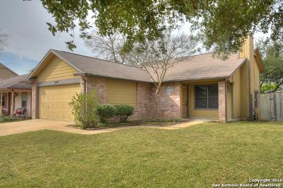 Converse Single Family Home For Sale: 8019 Comanche Pass