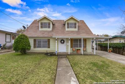 San Antonio Single Family Home New: 1326 El Monte Blvd