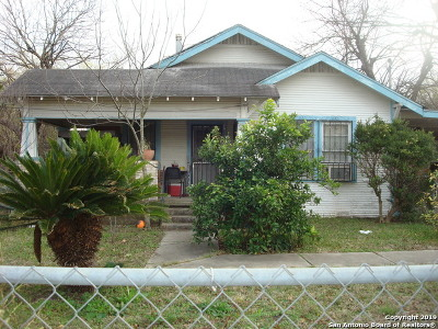 San Antonio Single Family Home For Sale: 512 Division Ave