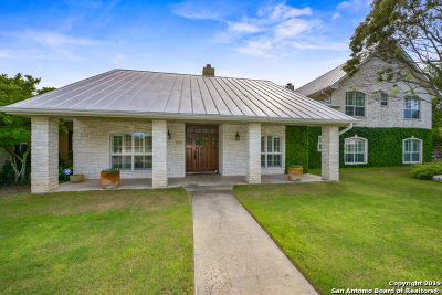 Kerrville Single Family Home For Sale: 1031 Bluebell Road