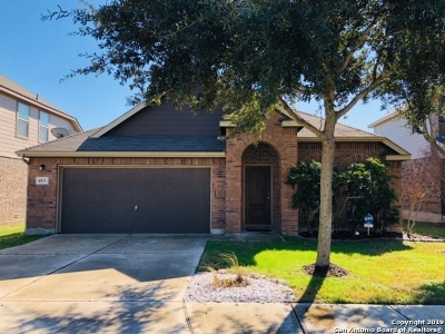 Cibolo Single Family Home Active Option: 453 Prickly Pear Dr