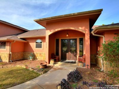 New Braunfels Single Family Home For Sale: 2617 Wild Cat Roost