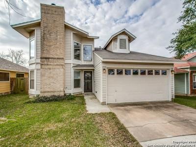 San Antonio Single Family Home Active Option: 7958 Wayside Trail